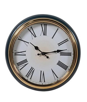 Black and Gold Wall Clock